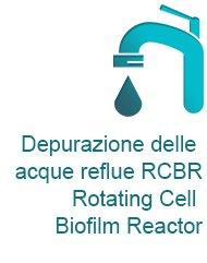 Depurazione delle acque reflue RCBR - Rotating Cell Biofilm Reactor - Rinnova Energia